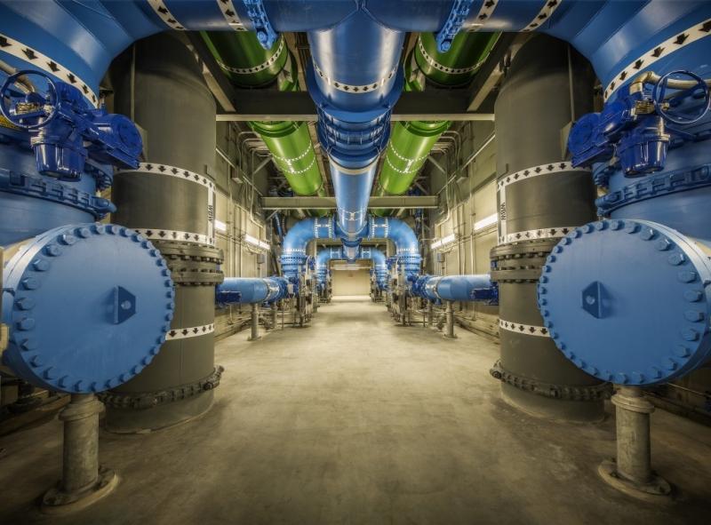 City of Austin Water Treatment Plant No. 4